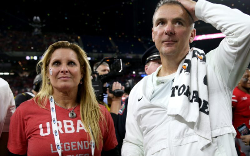 Urban Meyer's Wife Reacts To Video Of Him Dancing With Another Woman