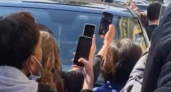 Johnny Depp Swarmed By Loving Fans In Rome Despite Controversy