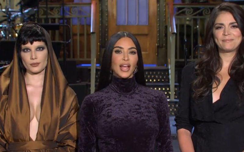 Kim Kardashian Takes A Stab At Comedy In First SNL Promo