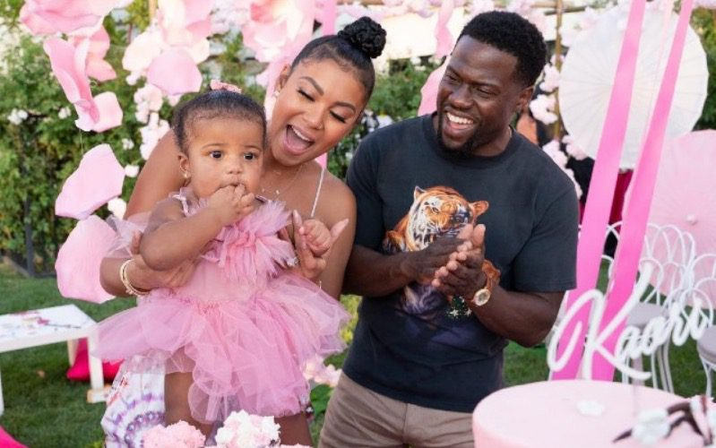 Kevin Hart And Eniko Throw Lavish Party For Daughter's 1st Birthday