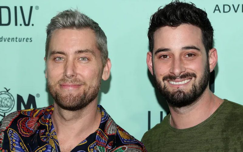 Lance Bass and her husband are now proud parents of twins