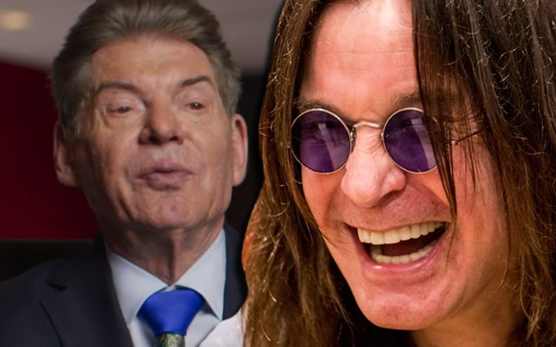Ozzy Osbourne Couldn't Keep His Teeth In When Meeting Vince McMahon