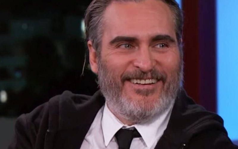 Joaquin Phoenix Reveals Bizarre Half Shaved Haircut