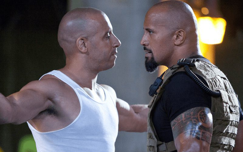 Fast & Furious Crew Thanked The Rock For Calling Out Vin Diesel