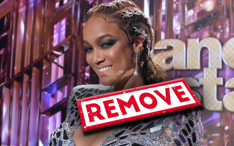 Fans Petition To Remove Tyra Banks From 'Dancing With The Stars'