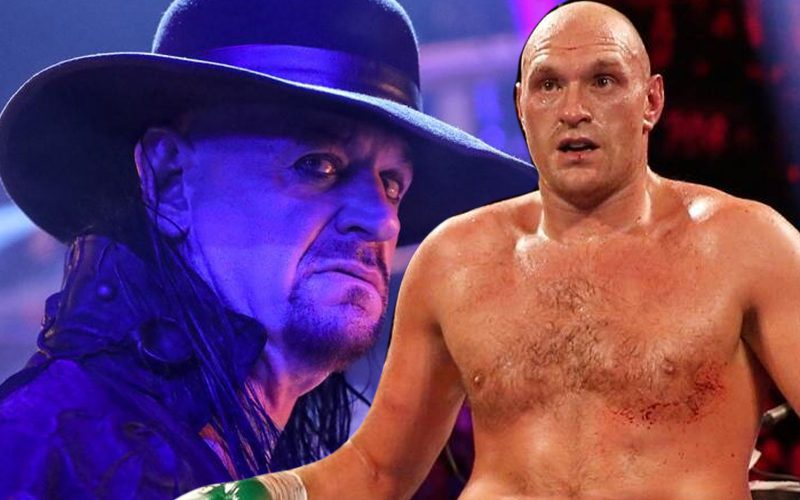 The Undertaker Wants Tyson Fury To Make Deontay Wilder Rest In Peace