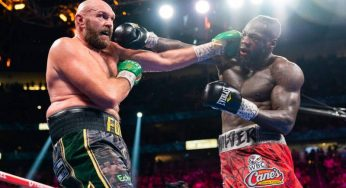 Tyson Fury Calls Deontay Wilder A Sore Loser After Glove Tampering Accusation
