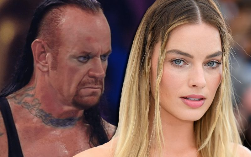 The Undertaker Reacts To Margot Robbie Revealing She Is A Huge Fan