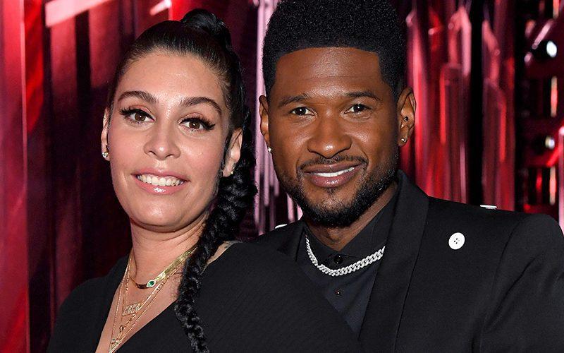 Usher And Girlfriend Jenn Goicoechea Welcome Baby Boy